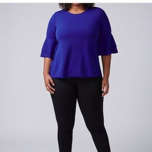 Lane Bryant Tiered bell top